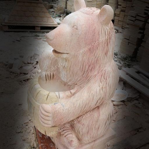 Художественная работа из дагестанского камня